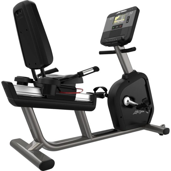 LifeFitness Club Series Plus Recumbent Step Thru Lifecycle
