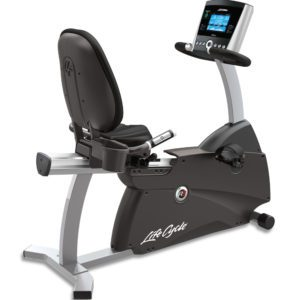 LifeFitness RS1 Recumbent Step Thru Lifecycle