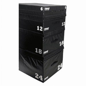 TROY Soft Foam Stackable Plyo Boxes