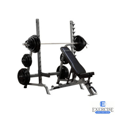 Body-Solid Bench Rack Combo SDIB370