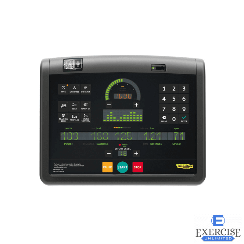 Technogym® Excite + Bike Console