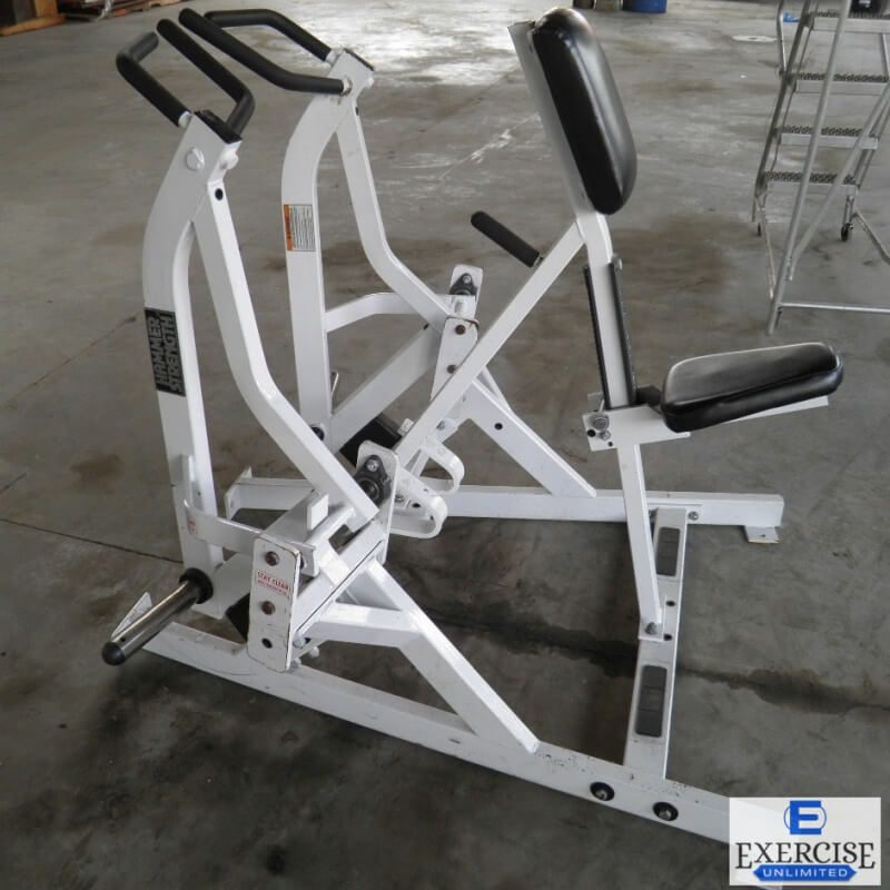 Hammer Strength Plate-Loaded Iso-Lateral Rowing